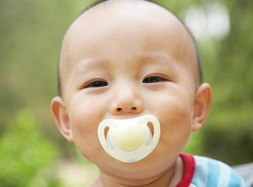 Dental Decay Through Poor Pacifier Cleaning